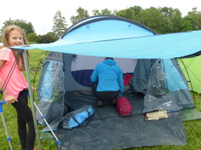 Zelten beim Schlarb 02.07.2016